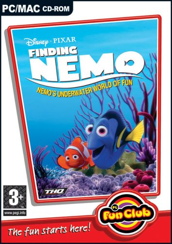 Click for larger image of Finding Nemo - Nemo's Underwater World of Fun (Disney Pixar)(PC and MAC)