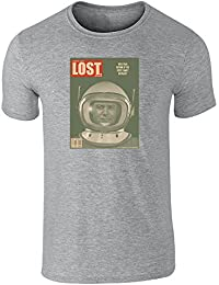 Pop Threads Lost in Space Lost Magazine Cover by Juan Ortiz Short Sleeve T-Shirt by
