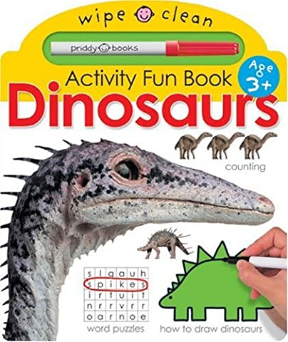 Wipe Clean Activity Fun Dinosaurs