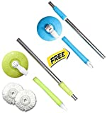 #1: Shivay Combo of One Mop Rod With free 1 Mop Rod (Product Colour May Vary)