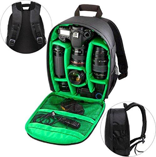 Sannysis Mochila para cámaras deportivas impermeable del morral para Canon para Nikon para Sony