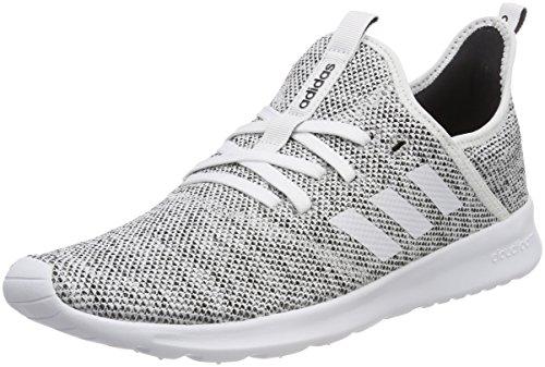 adidas Damen Cloudfoam Pure Fitnessschuhe, Elfenbein (FTWR White/Core Black), 37 1/3 - Frauen-tennis-schuhe
