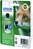 Epson Original Durabrite Fox T1281 Ink Cartridge - Black