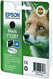 Epson T1281 Cartouche d'encre d'origine Durabrite Ultra Noir