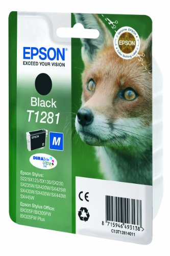 Epson C13T12814011 - Cartucho de tinta, negro