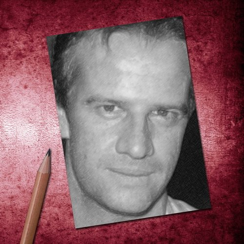 H720 (4 SEASONS) CHRISTOPHER LAMBERT - ACEO Sketch Card (Signed by the Artist) #js001