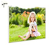 B-wie-Bilder.de Magnettafel Pinnwand mit Wunschmotiv Ihr eigenes Foto Bild Motiv Größe 80 x 60 cm