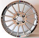 Vulturbike Perfiles para Rueda Coche BMW Motorsport - Fucsia para, 18'