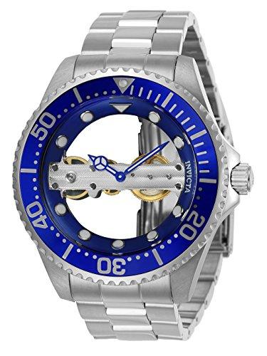 Invicta 24693 Pro Diver Orologio da Uomo acciaio inossidabile Meccanico manuale quadrante blu