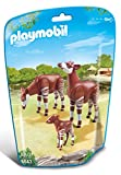 Playmobil 6643 City Life Zoo Okapi Family(Multi Color)