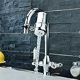 Purificateur D'eau Robinet, Sayou Rotating Filtre à Eau Robinet / Filtre Robinet Cuisine Pour Salle De Bain Et Cuisine