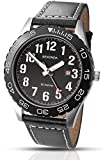 Sekonda-Mens-Quartz-Watch-with-Black-Dial-Analogue-Display-and-Black-Leather-Strap-1129