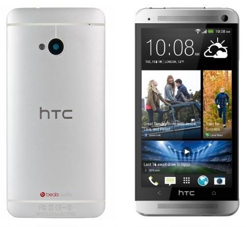 HTC One M7 801E 32 GB (Unlocked), 4.7inches Beats Audio Quad-Core Silver, [UK Import] Htc Audio