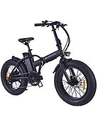 E-Road Mini Fat Vélo Électrique Mixte Adulte, Noir