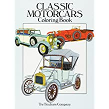 Classic Motorcars Coloring Book (Dover History Coloring Book)