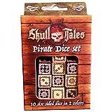 Eclipse Skull Tales ¡A Toda Vela! - Set De Dados Personalizados