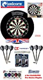 Eclipse Pro 2 + H. Surround black + Taylor Darts + Abwurflinie + 5er Set Flights