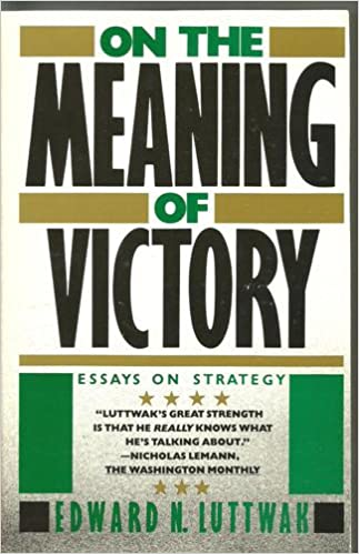 Essay on strategy leads to victory