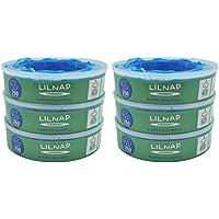 LILNAP - Recambios para el contenedor de pañales Angelcare - recarga multicapa con tratamiento EVOH antibacteriano