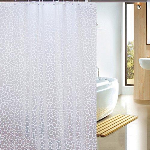 Rideaux de douche Rideau de douche de mode PEVA Salle de bains Protection de l'environnement imperméable Épais Durable Doux Cosy Durable ( taille : 240X180CM )