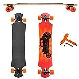 SSITG Longboard Drop Through Drop Down ABEC 9 Streetsurfer Long Board Skateboard