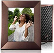 Nixplay Iris Cadre Photo Wi-FI Cloud 8 Pouces, Haute résolution, envoyez des Photos Via Application Nixplay, c
