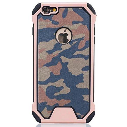 vanki® iPhone 7 hülle Tasten Tarnung PC+TPU Schutzhülle Case Cover Bumper Handyhülle für iPhone 7 (4,7 Zoll) (B) B