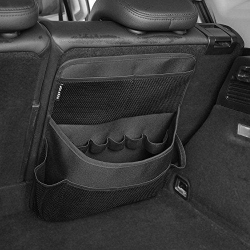 Keep Top Luxus Oxford Auto Kofferraum Sitz Zurück Velcro Organizer Mehrzwecktaschen Reisen Aufbewahrungstasche für Autos SUV Trucks Vans Vordersitz Organisation