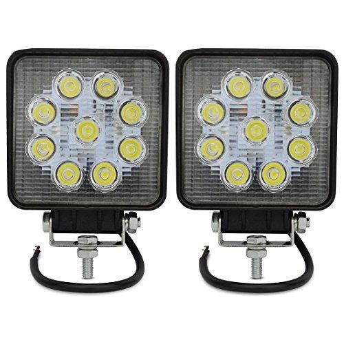 Hengda® 2 x Arbeitsscheinwerfer LED 27 W