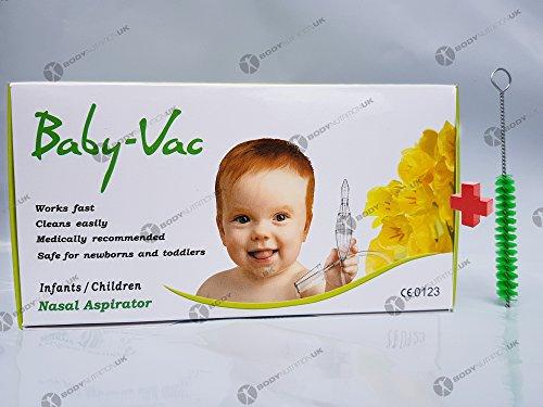 nezpirateur–Nasensauger baby-vac + spezielle Bürste–Full Kit