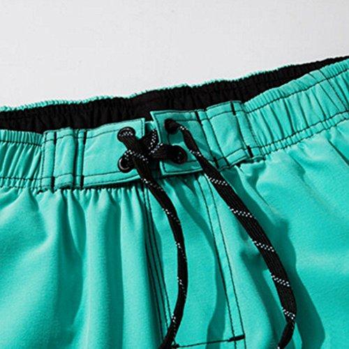 Männer Shorts Strand Shorts Quick-dry Sport Shorts Grau