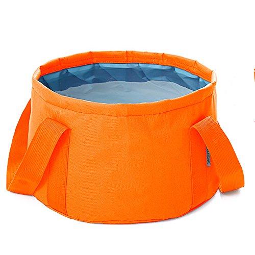Secchio pieghevole,NNIUK 15L multifunzionale portatile benna di acqua del contenitore dell'acqua per la corsa,all'aperto,Pesca, Camping,Beach.