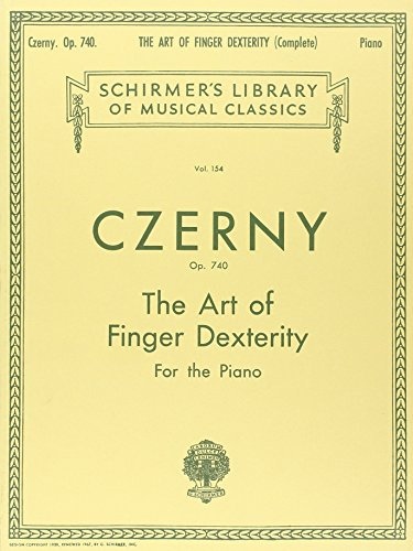 Carl Czerny: the Art of Finger Dexterity Op.740 (Complete) Piano