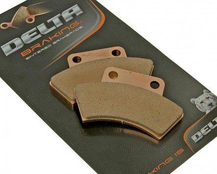 Bremsbeläge Delta Braking Sinter DB2440QDN für POLARIS 425 Magnum (2x4) Baujahr 95-98 (Hinten)