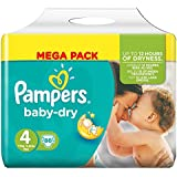 Pampers Baby Dry Nappies Mega Pack - Größe 4 (Maxi), 86 Windeln
