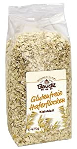 Bio - Glutenfreie Haferflocken - Kleinblatt - 2er Pack (2 x 475 g) von Bauck