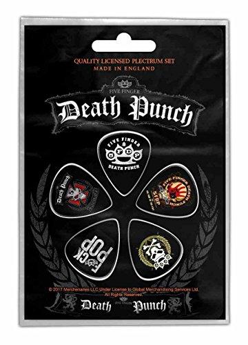Five Finger Death Punch 5FDP Plektrum Pack - Pack Plektren