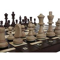 Chessebook-Schachspiel-Bug-41-x-41-cm-Holz