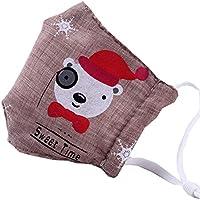 Kids Staubdicht Gesichtsmaske Baumwolle Mundmaske mit verstellbaren Trägern,#08 preisvergleich bei billige-tabletten.eu