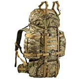 WiSPORT® REINDEER Rucksack 75 Liter | Cordura | Militär | Marschrucksack | Wandern | Outdoor | Camping, Tarnung:WZ-93