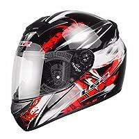 LS2 FF352 Wolf Motorcycle Helmet L Black/Red