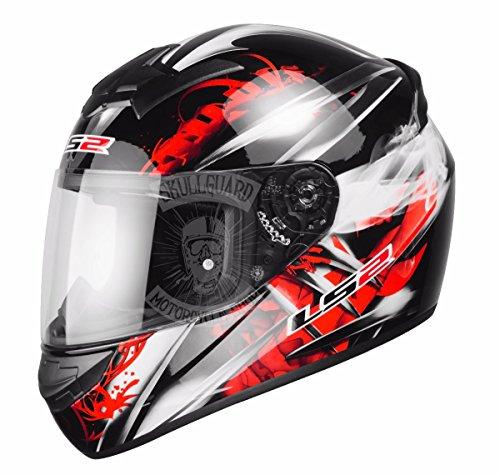 LS2F352Wulf motocicleta moto casco tamaño L 59-60cm