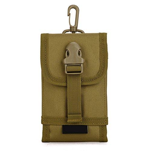 Huntvp marsupio uomo sportivo, borsetta a tracolla militare borsa per campeggio escursionismo ciclismo viaggio trekking porta smartphone chiave denaro