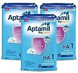 Aptamil ProExpert HA 1, Hypoallergene Anfangsmilch, EazyPack, 3er Pack (3 x 800g)