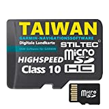 ?Taiwan Garmin Topo GPS Karte GB microSD Card Garmin Navi, PC & MAC Garmin Navigationsger�te Navigationssoftware ? ORIGINAL von STILTEC � Bild