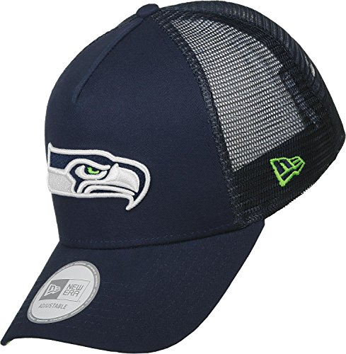 New Era Team Basic Seattle Seahawks Trucker Cap (Trucker Hats Era New)