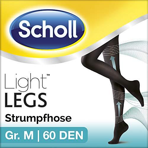 Scholl Light Legs Strumpfhose für ein leichtes Beingefühl, 60 DEN, schwarz, M, lange Haltbarkeit, 1 Paar