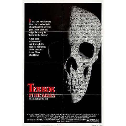 Terror in the Aisles Poster (27 x 40 Inches - 69cm x 102cm) (1984)