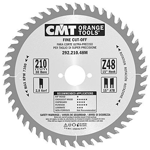 CMT 292.210.48 M Cut Lame Fine Z-48 D-210 B-30 K-2,8 P-1,8