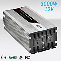 Inverter 3000 W/6000 W di onda pura del seno DC 12 V to AC 220 V Pure Power Inverter